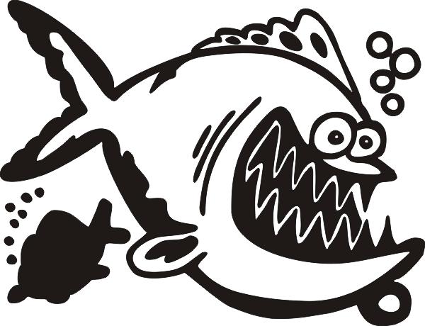 Lustiger Fisch -001