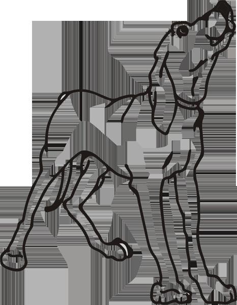 Hundeaufkleber -021