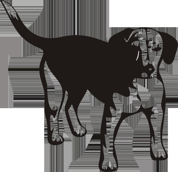 Hundeaufkleber -018