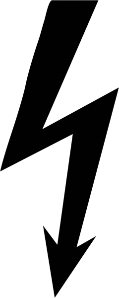 Stromsymbol - Blitz