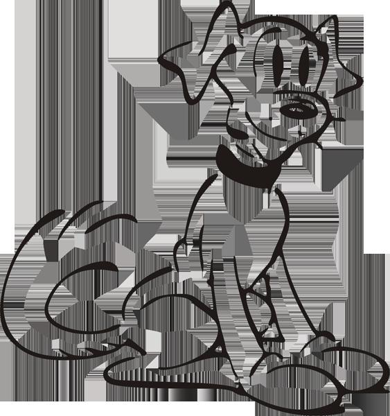 Hundeaufkleber -004