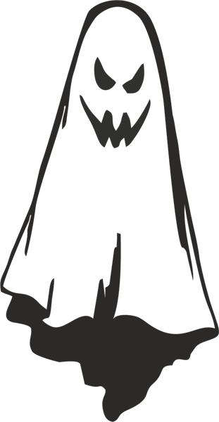 Halloween Gespenst