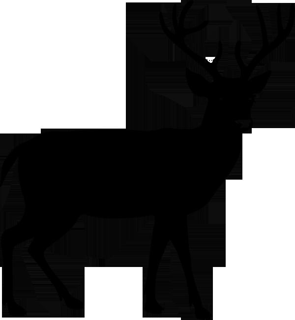 Aufkleber Hirsch -02