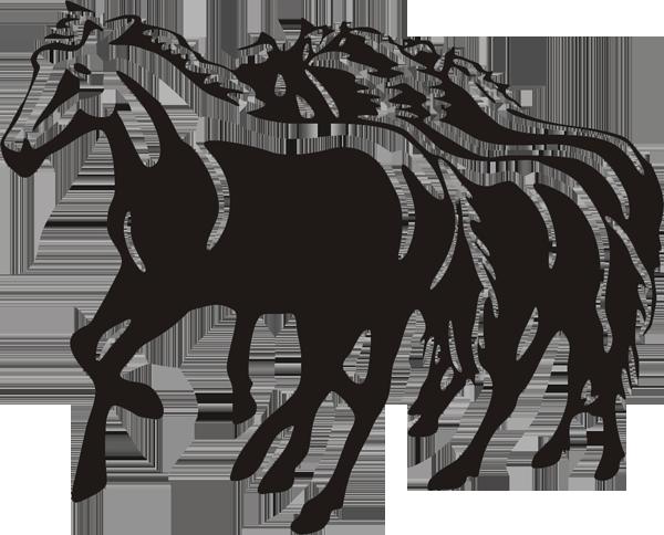 Pferd -009