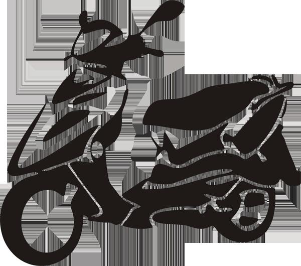 Motorroller -001